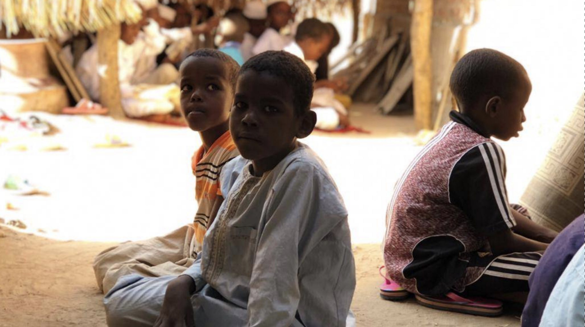 Build a proper shelter for children studying at Quran and Hifdh school in Chad.
