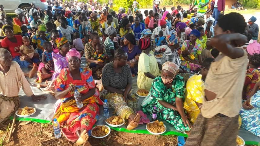 Covid-19 Feeding Program in Rural Uganda