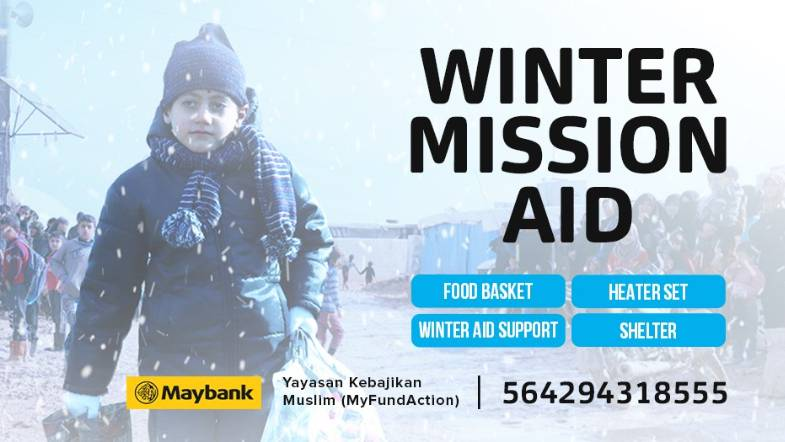 Winter Mission Aid for Refugees in Lebanon & Palestine This Winter