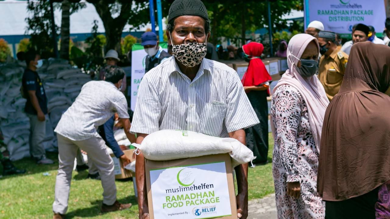 Food Pack for Dhuafa in Aceh, Indonesia
