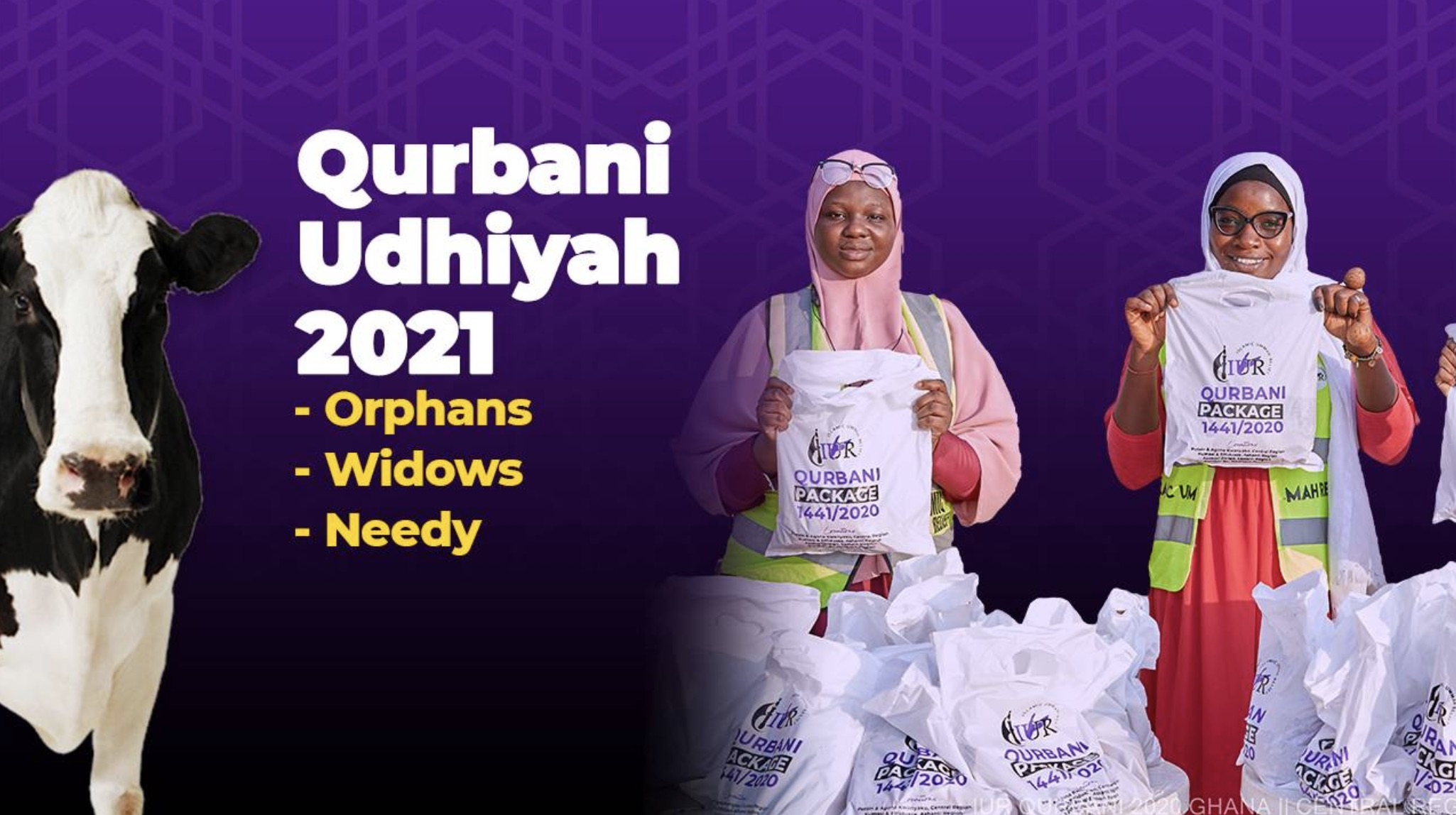Qurbani Udhiyah for Orphans, Widows and Needy in Africa